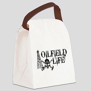 oilfieldlife2 Canvas Lunch Bag