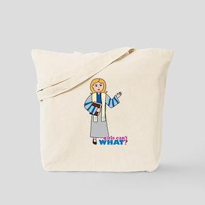 Preacher Woman Light/Blonde Tote Bag