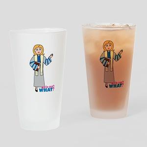 Preacher Woman Light/Blonde Drinking Glass