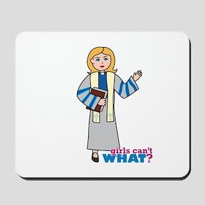 Preacher Woman Light/Blonde Mousepad