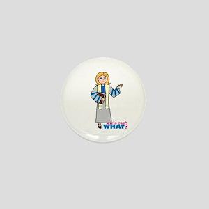 Preacher Woman Light/Blonde Mini Button