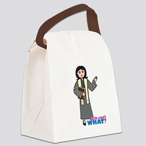 Preacher Woman Medium Canvas Lunch Bag