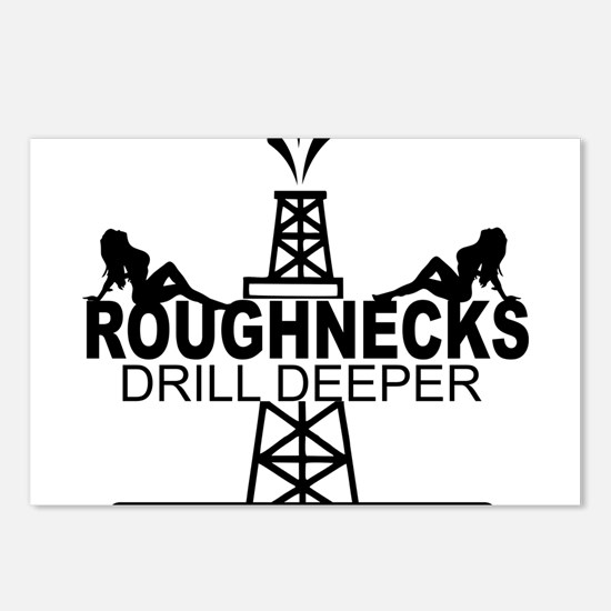 Roughnecks Drill Deeper Postcards (Package of 8)