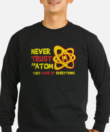 Never trust an ATOM They make up everything T