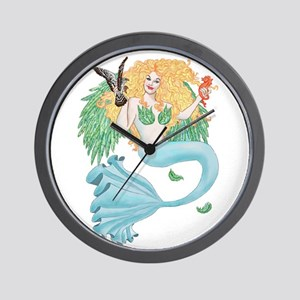 Neither Fish Nor Fowl Wall Clock