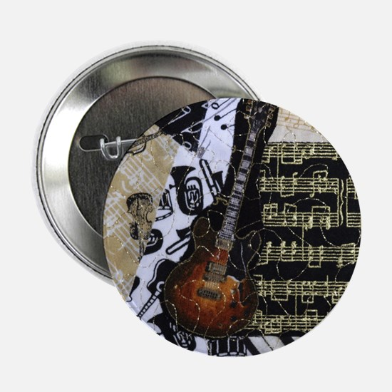 Electric Guitar 2.25 Inch Button