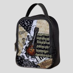 Electric Guitar Neoprene Lunch Bag