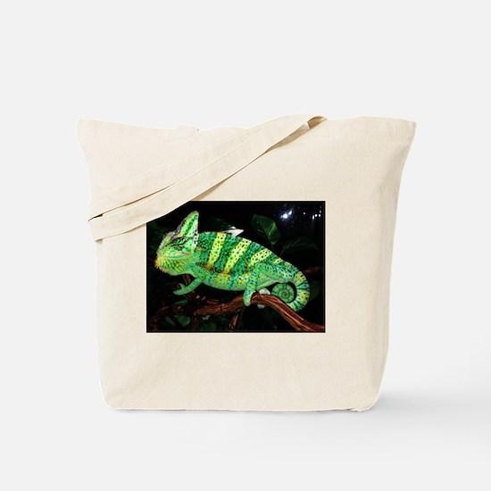 Veiled Yemen Chameleon Tote Bag
