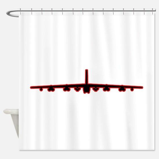 Cool Air force sac Shower Curtain