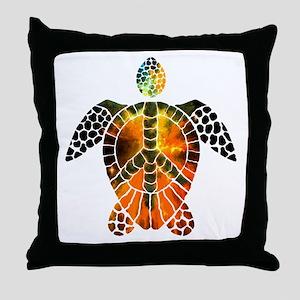 sea turtle-3 Throw Pillow