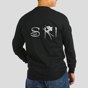 SKI Long Sleeve Dark T-Shirt