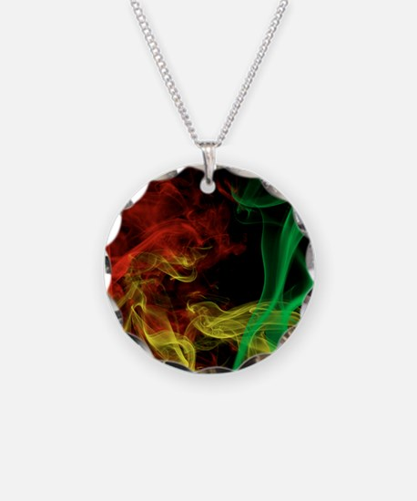 Rasta Colors Smoke Necklace
