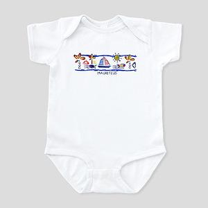 Mauritius beach Infant Bodysuit