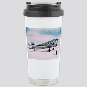 Vintage Alaska Airlines Stainless Steel Travel Mug