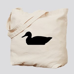 Duck Silhouette Tote Bag