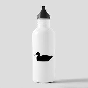 Duck Silhouette Water Bottle