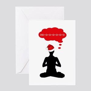 Christmas Yoga Greeting Cards