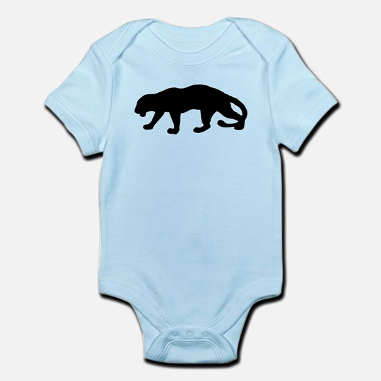 Panther Silhouette Body Suit