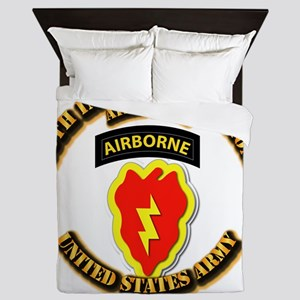 Army - 25th ID - Airborne Queen Duvet