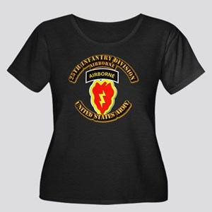 Army - 25th ID - Airborne Women's Plus Size Scoop