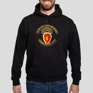 Army - 25th ID - Airborne Hoodie (dark)