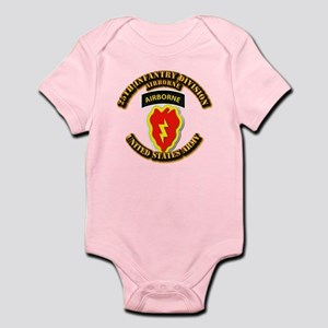 Army - 25th ID - Airborne Infant Bodysuit
