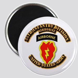 Army - 25th ID - Airborne Magnet