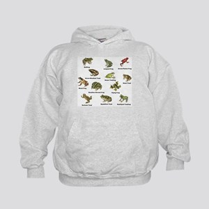 Frog and Toad Types Hoodie