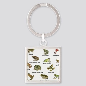Frog and Toad Types Keychains