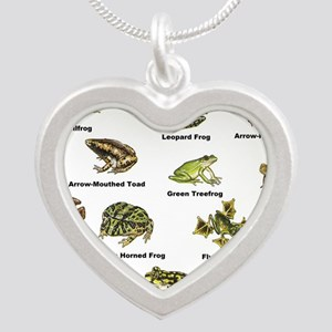 Frog and Toad Types Necklaces