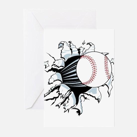 Breakthrough Baseball Greeting Cards
