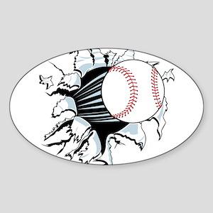 Breakthrough Baseball Sticker
