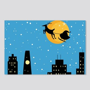 NIGHT BEFORE CHRISTMAS Postcards (Package of 8)