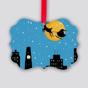NIGHT BEFORE CHRISTMAS Picture Ornament