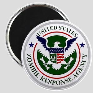 US Zombie Response Agency Magnet