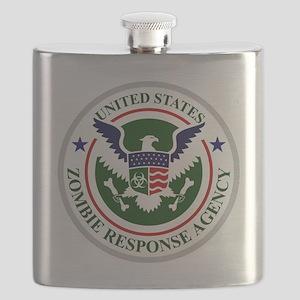 US Zombie Response Agency Flask