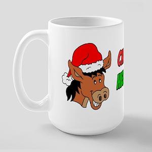 Italian Christmas Donkey Large Mug