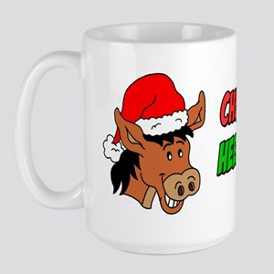 italian christmas donkey large mug - Dominic The Christmas Donkey
