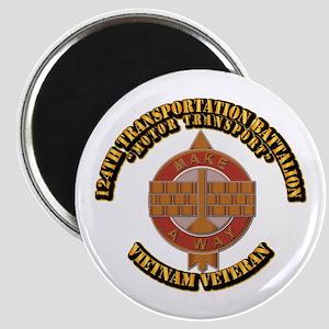Army - 124th Transportation Bn Magnet