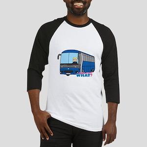 Bus Driver Light/Blonde Baseball Jersey