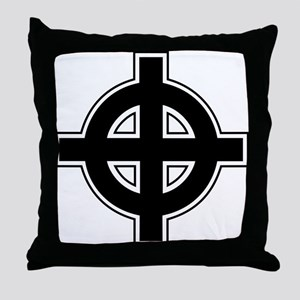 Celtic Cross Square Throw Pillow