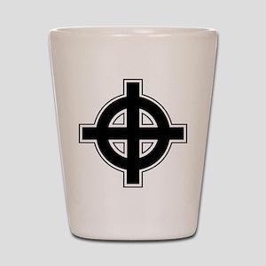 Celtic Cross Square Shot Glass