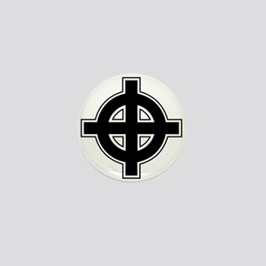 Celtic Cross Square Mini Button