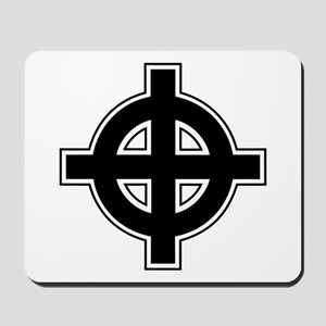Celtic Cross Square Mousepad