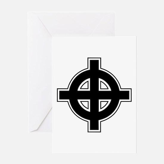 Celtic Cross Square Greeting Card