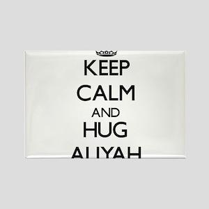Keep Calm and HUG Aliyah Magnets