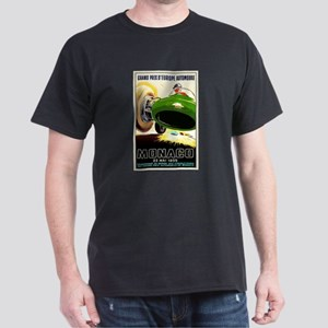 Vintage 1955 Monaco Grand Prix Race Poster T-Shirt