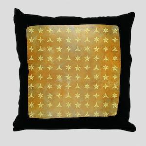 SPARKLY STARS Throw Pillow