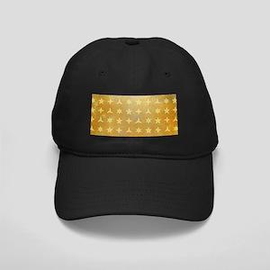 SPARKLY STARS Black Cap