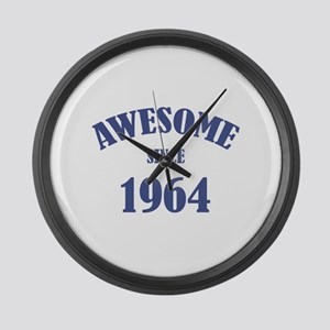 Awesome Since 1964 Large Wall Clock